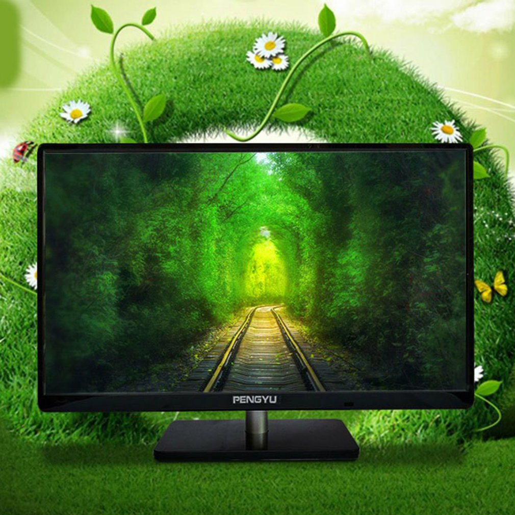 LCD Monitor Screen For Tv And Computer Dual-Use Display Ultra-Thin Surface Monitor Mva HDmi Computer Screen