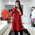 LANMREM  новинка 2020  весна и лето  модная плиссированная винтажная одежда  половина рукава  Цветочный сращенный кардиган  Женская куртка WK68318