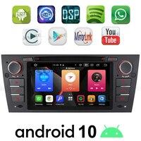 A Sure 7 Built in CarPlay Android 10.0 Auto Radio Stereo DVD Sat Nav DAB GPS Navigation For BMW E90 E91 E92 E93 318 320 325 330