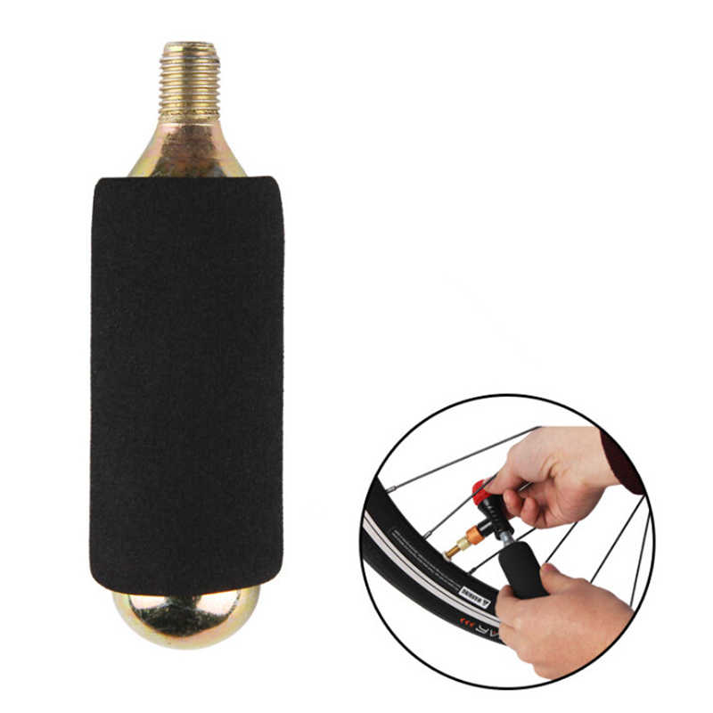 Fiets CO2 Cartridge Spons Cover voor 16 g CO2 Inflator Fietspomp Bike Air Inflator Accessoires