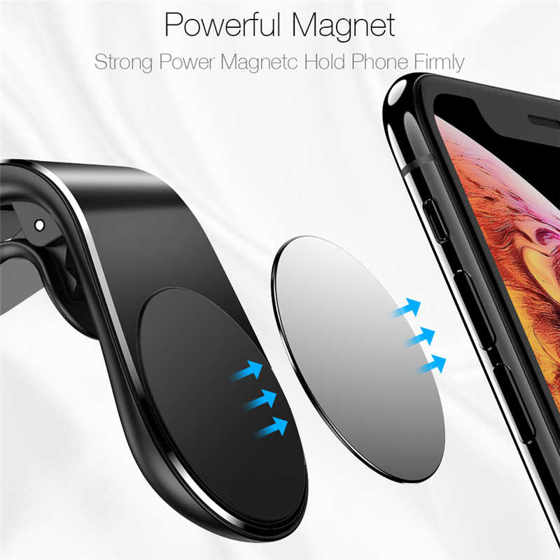 Metal magnético suporte do telefone carro para renault megane 2 3 espanador logan clio laguna 2 captur