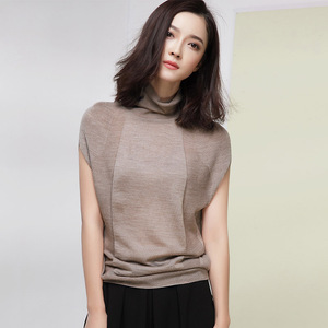 Image 3 - XITAO Wool Soft Elastic Sweaters Pullovers Turtleneck Short Sleeve Autumn Women Cashmere Sweater Female Brand Jumpers HHB 002