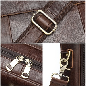 Image 5 - WESTAL Business Men Briefcase Laptop Bag Leather Mens Messenger Bag Genuine Leather Work/Office Bags for Men Briefcase Male