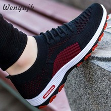 WENYUJH Sneakers Fashion Outdoor Mens Color High Quality Brand Bandage Breathable Shoes