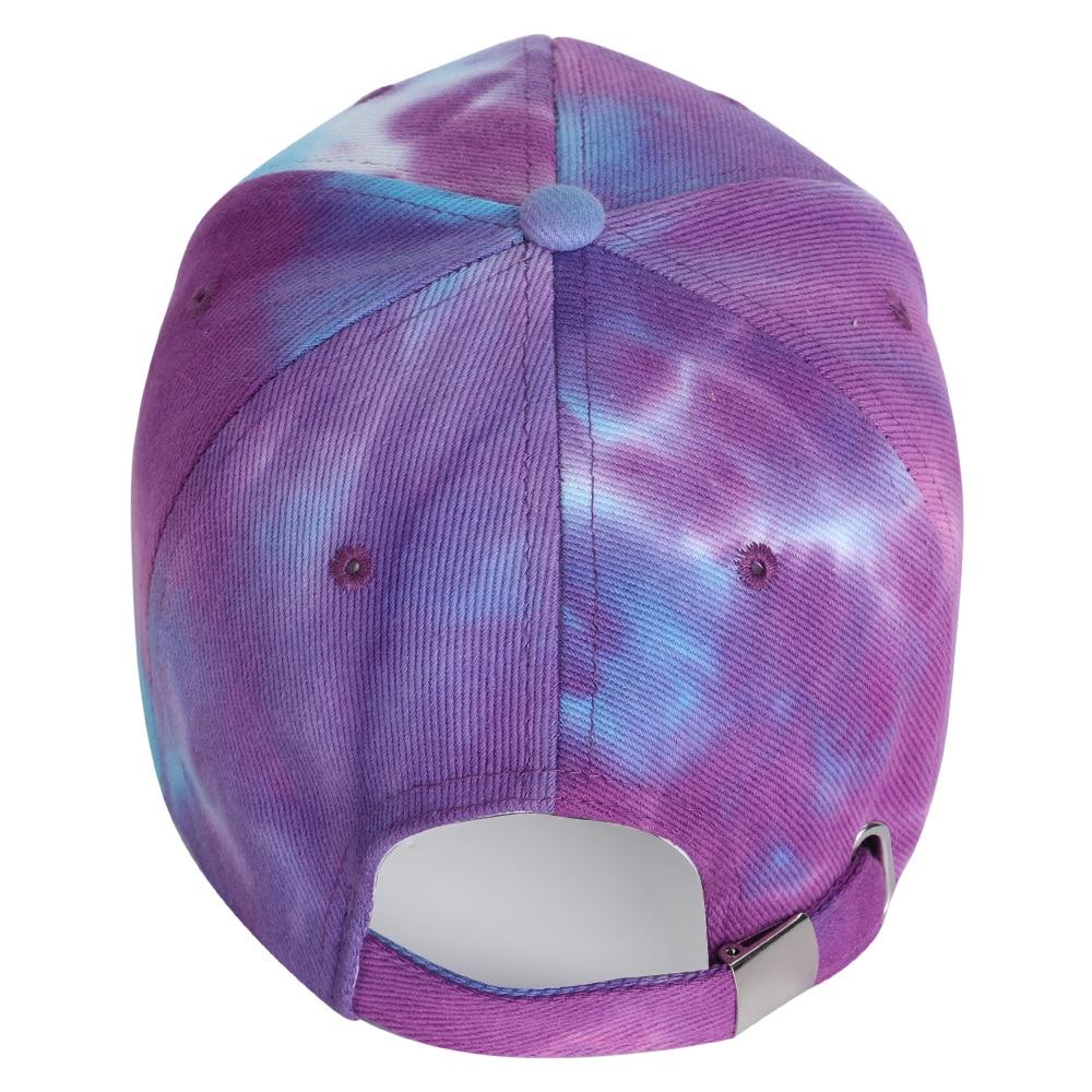 2020 New Fashion Tie Dye Baseball Cap Spring Men Women Trend Lovers Colorful Snapback Hat Outdoor