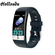 Wristband Bracelet Temperature-Measurement Blood-Pressure-Oxygen Smart-Watch Android