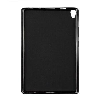 Funda trasera QIJUN de silicona para tableta inteligente para Lenovo Tab 3 8 Plus 8,0 Tab3 8 plus TB3-8703F TB3-8703N 8703X carcasa a prueba de golpes
