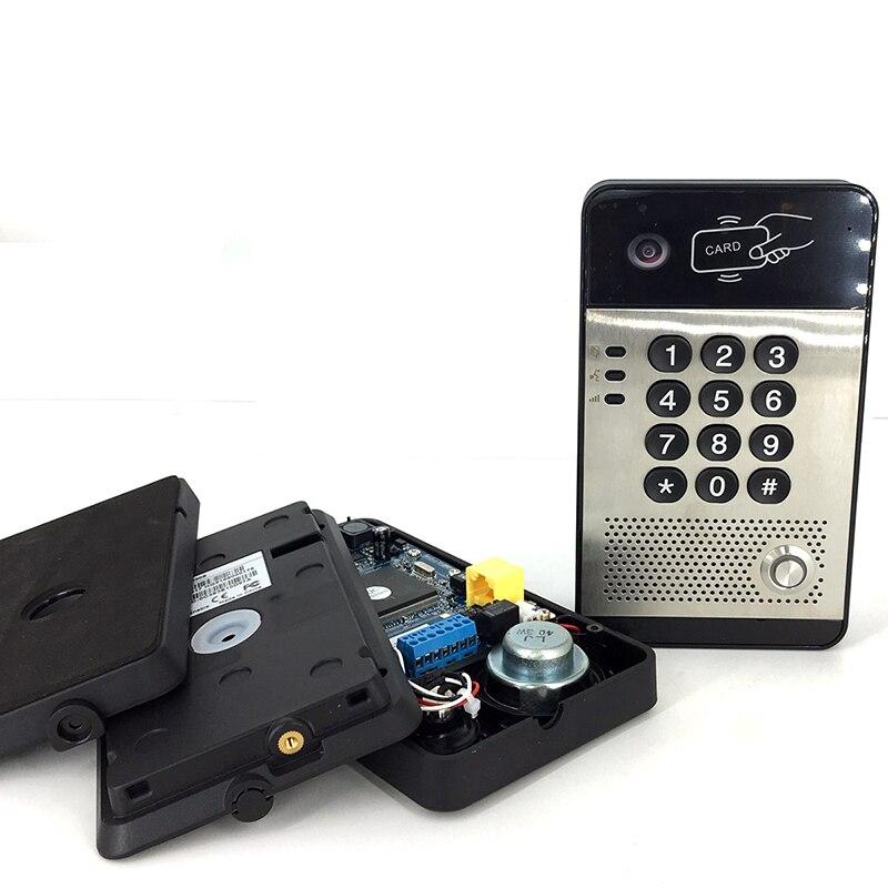 NiteRay SIP video me dyer të telit elektronik të kyçjes në derë - Siguria dhe mbrojtja - Foto 5