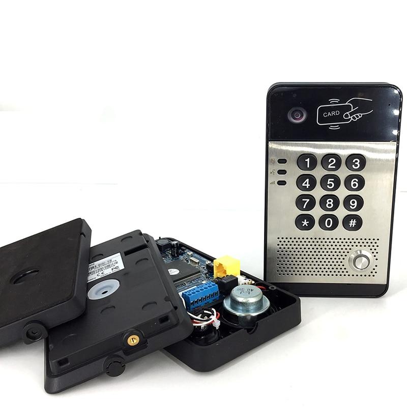 korteritele mõeldud video-uksetelefonimonitor, video-uksetelefoni - Turvalisus ja kaitse - Foto 4