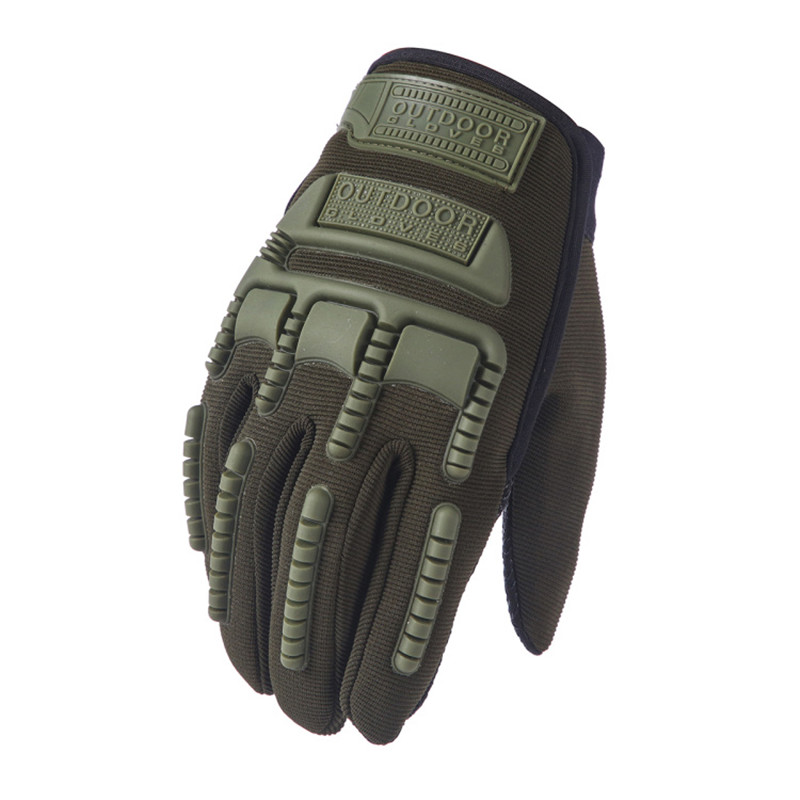 Army Military Tactical Gloves Paintball Airsoft Shooting Combat Anti-Skid Bicycle Full Finger Gloves Driving Men Rekawiczki