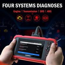 LAUNCH CRP123X Obd2 Scanner Auto Code Reader Car Diagnostic Tool ENG AT ABS SRS WIFI Diagnostic Scanner Obd Automotive Launch