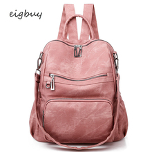 Women Backpack Shopping Bag Japanese Hot Classic  Pink Business Backpacks For Teenage Girls Sac A Dos Purse Bookbags