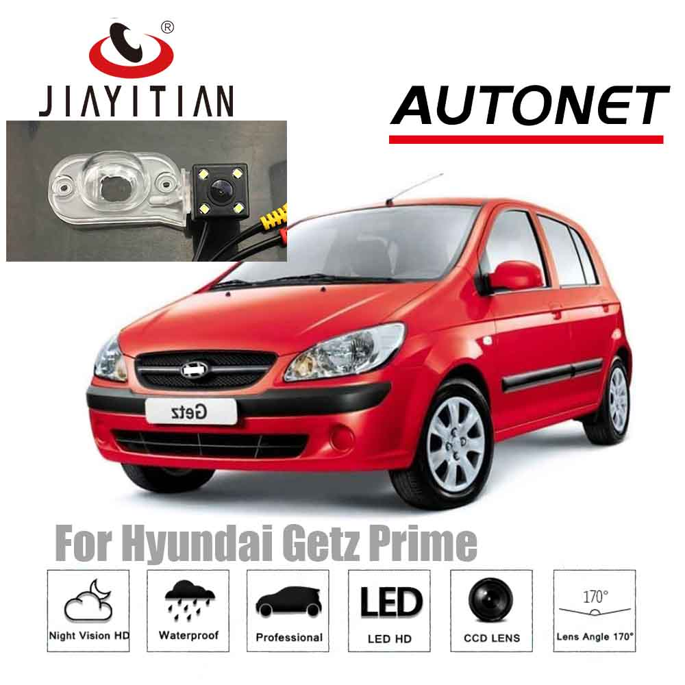 JIAYITIAN Rear View Camera For Hyundai Getz Prime Hatchback/CCD/Night Vision/Backup Reverse Camera/License Plate Camera