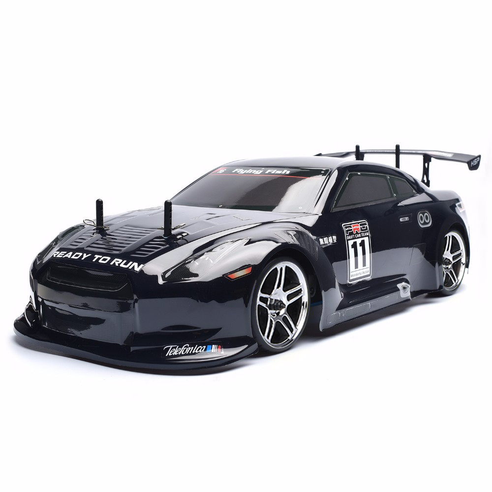 HSP Racing <font><b>Rc</b></font> <font><b>Drift</b></font> Car 4wd <font><b>1:10</b></font> Electric Power On Road <font><b>Rc</b></font> Car 94123 FlyingFish 4x4 vehicle High Speed Hobby Remote Control Car image