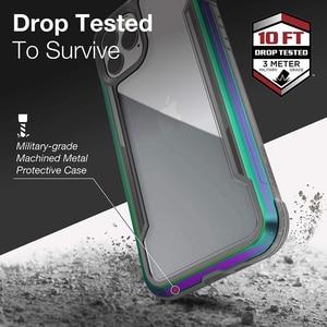 Image 2 - Túi Chống Sốc X Doria Quốc Phòng Che Chắn Ốp Lưng Điện Thoại Iphone 11 Pro Max Quân Sự Cấp Thả Thử Nghiệm Ốp Lưng iPhone 11 Pro Ốp Viền Nhôm
