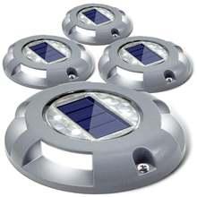 4 шт светодиодный палуба светильник s шланг для полива огорода