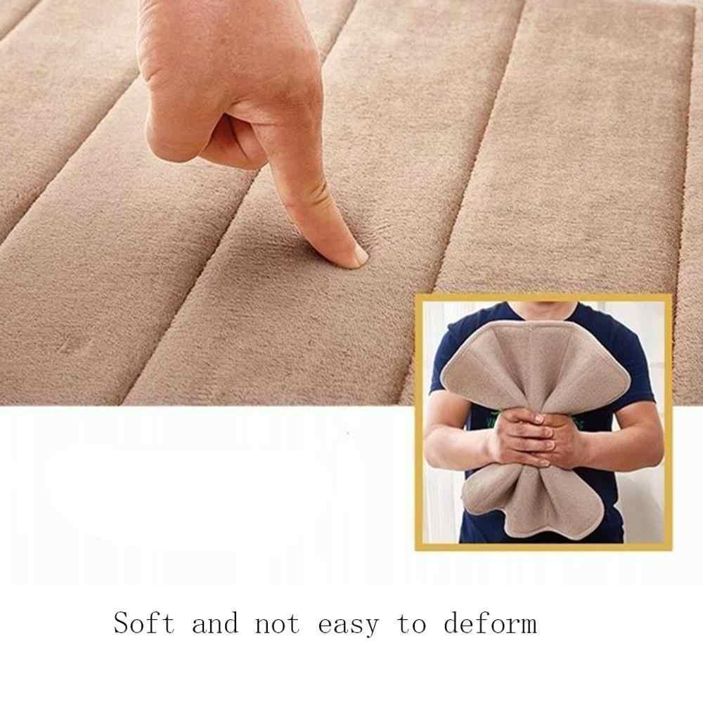 סופג רך זיכרון קצף אמבט Mat להחליק עמיד אמבטיה שטיח שטיחים צמר אמבטיה סט רצפת מקלחת שטיח אמבטיה גאדג 'ט תפאורה & xs
