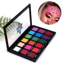 Colorful Beauty Neon Eye Shadow Palette Long Lasting Nude Color Matte Glitter Waterproof Eye Shadow Makeup Palette недорого