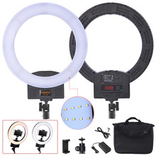 fosoto Photographic lighting led Ring Light batter