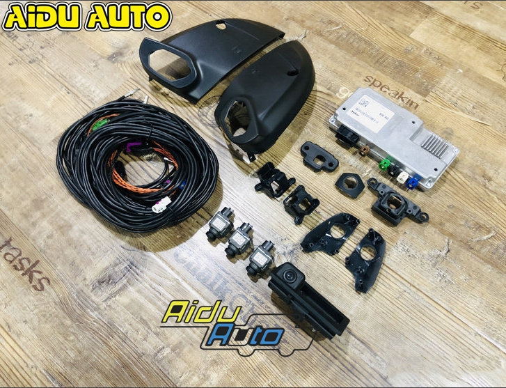 For Audi A4 B9 A5 B9 Q5 80A Q7 4M MLB Original 360 Environment Rear Viewer Camera