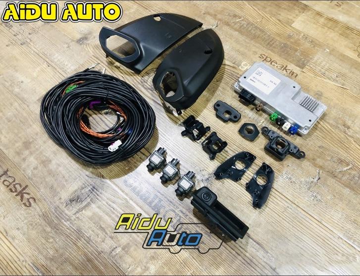 For Audi A4 B9 A5 B9 Q5 80A Q7 4M MLB Original 360 Environment Rear Viewer Camera