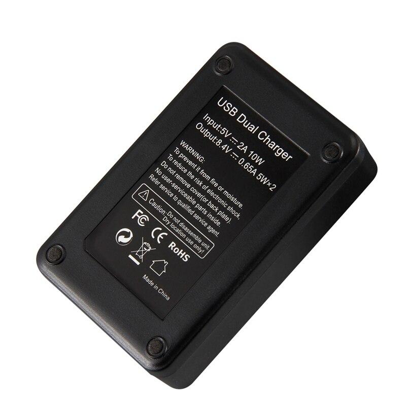 Image 5 - Mamen 3Pcs NP FW50 NP FW50 NPFW50 Digital Camera Battery 2100MAh + LCD Dual Charger for Sony NEX 3 A7R A6500 A6300 A6000 A5000 ADigital Batteries   - AliExpress