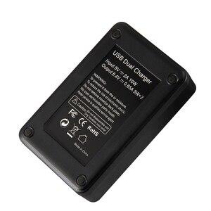 Image 5 - Mamen 3Pcs NP FW50 NP FW50 NPFW50 Digital Kamera Batterie 2100MAh + LCD Dual Ladegerät für Sony NEX 3 A7R a6500 A6300 A6000 A5000 EIN