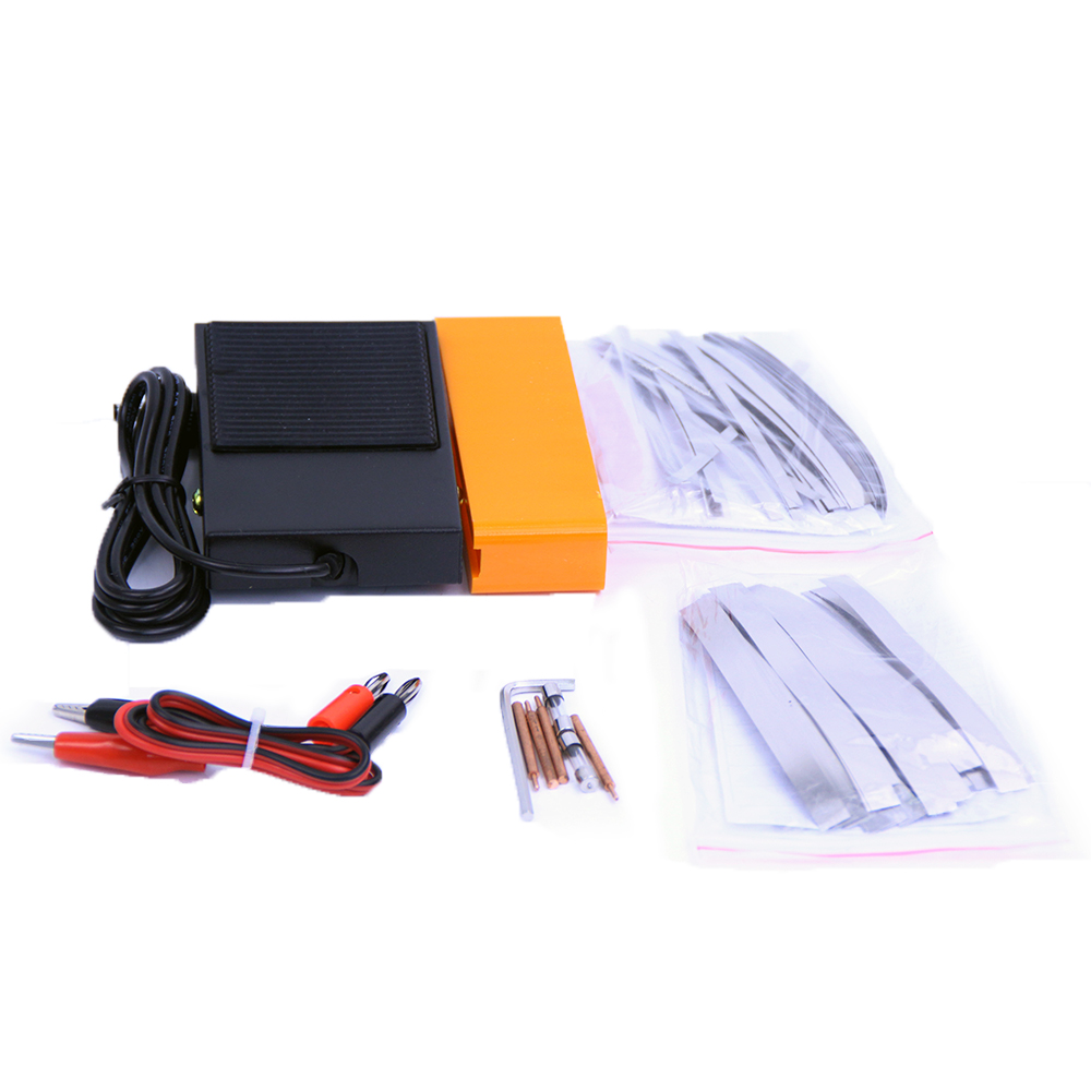 Tools : SUNKKO 787A  Battery Microcomputer Pulse Spot Welding Machine MCU Welder Machine Battery Capability Charger Foot Pedal for 18650