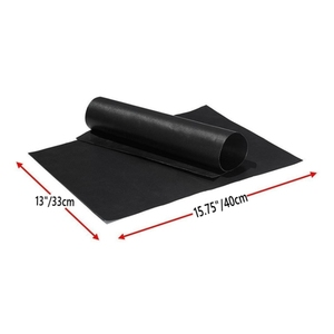 Image 5 - バーベキューグリルマットバーベキュー屋外ベーキングノンスティックパッド再利用可能なテフロン調理プレート 40*30 センチメートルパーティーptfeグリルマットツール新