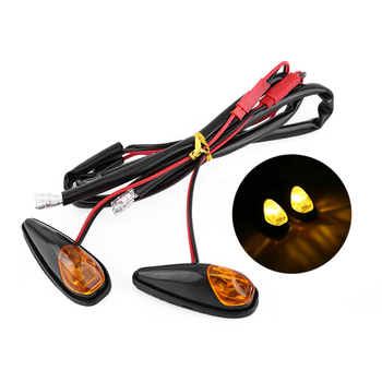 Аксессуары для мотоциклов светодиодные Ретро сигнальные огни для мотоцикла Harley Blinker светодиодные индикаторы Сигнальные огни поворота 1 пар...