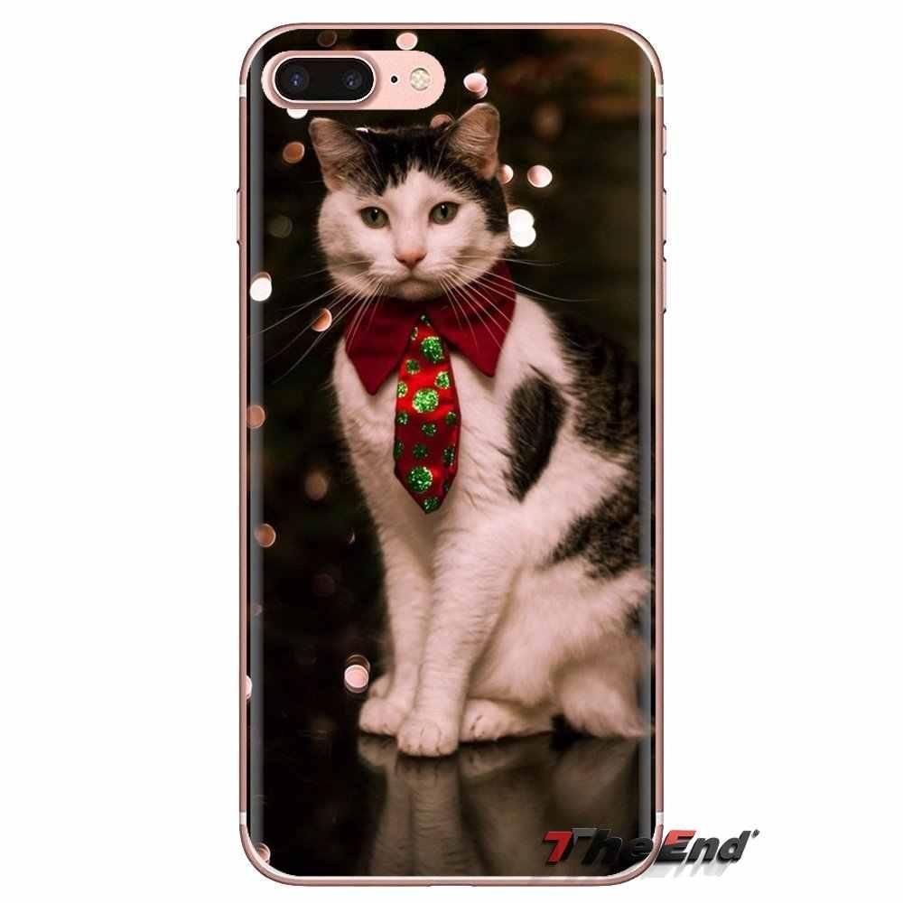 猫着用祖母メガネ携帯電話ケース Lg スピリットモトローラモト X4 E4 E5 G5 G5S G6 Z z2 Z3 G2 G3 C 再生プラスミニ