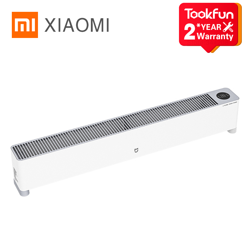 XIAOMI MIJIA Baseboard Electric Heater Fast Heating Smart Controlled by Mijia APP Thermal Cycle Silent Bathroom IPX4 Waterproof