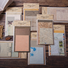Paper Background-Paper Decorative Craft Junk Journal Airmail Scrapbooking Vintage Receipts-Material