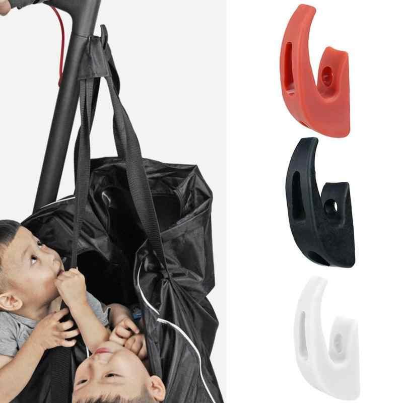 سكوتر كهربائي الجبهة هوك شماعات خوذة أكياس مخلب لوح التزلج سكوتر قبضة مقبض حقيبة جزء ل Xiaomi Mijia M365/M187/ برو