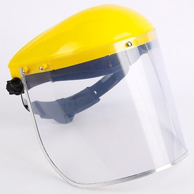 Protective Full Face Mask Welding Helmet Anti-UV Saliva Safety Anti Virus Shield Visor Workplace Protection Supplies 4