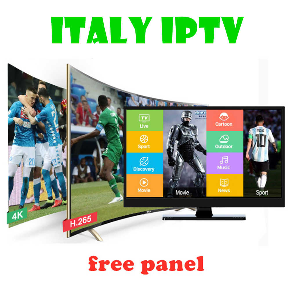 HD-IPTV إيطاليا IPTV الاشتراك 6000 + لايف سوبر إيطاليا ألمانيا الإيطالية ألبانيا تركيا الكبار ل M3U أندرويد Enigma2 مربع التلفزيون الذكية