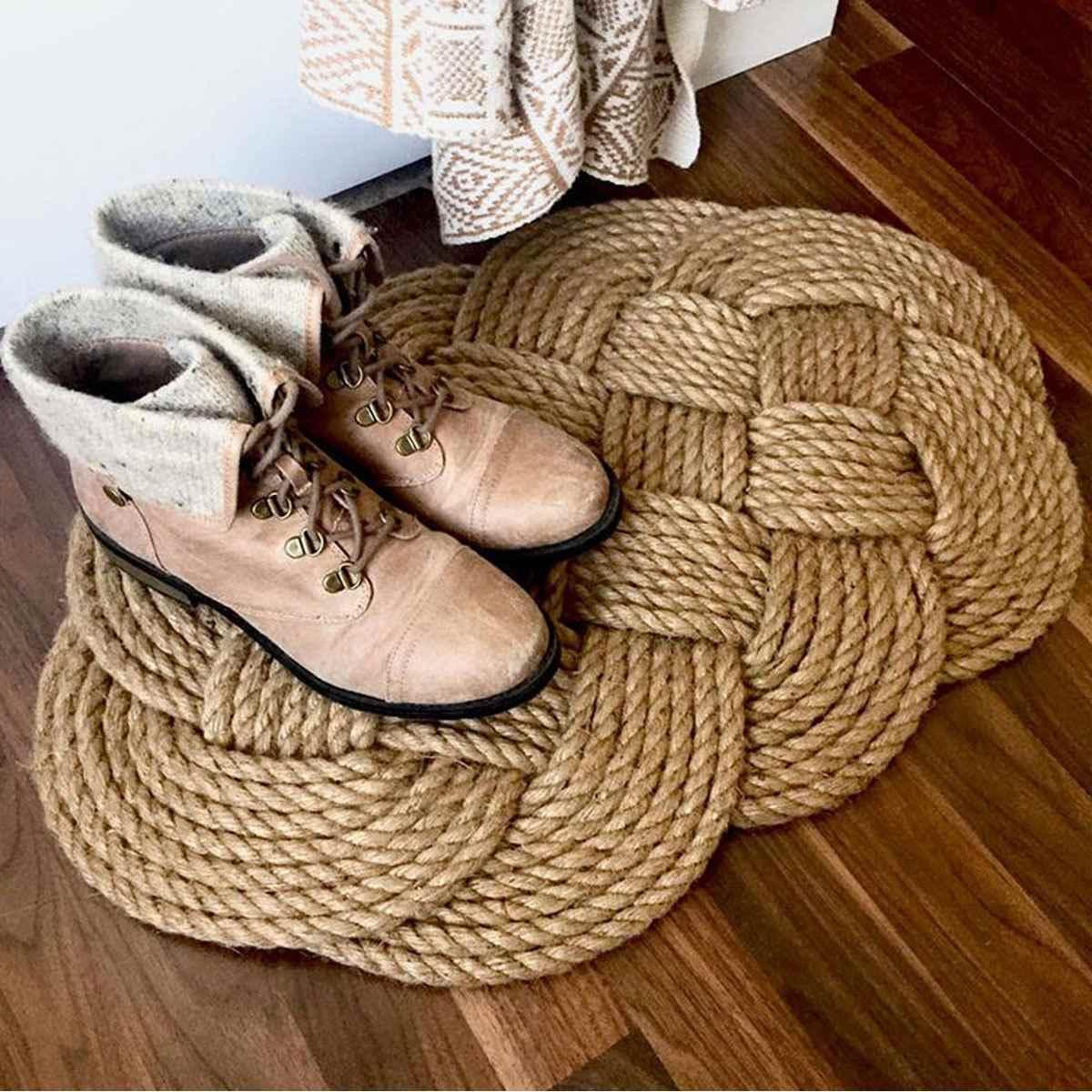 Kiwarm 20mm 1-50 m juta corda corda corda corda de cânhamo natural diy decoração gato pet riscando decking