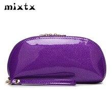 Handbag Wallet Clutch Female Women Wristband Fashion Lady Patent Shell Banquet-Bag Glossy