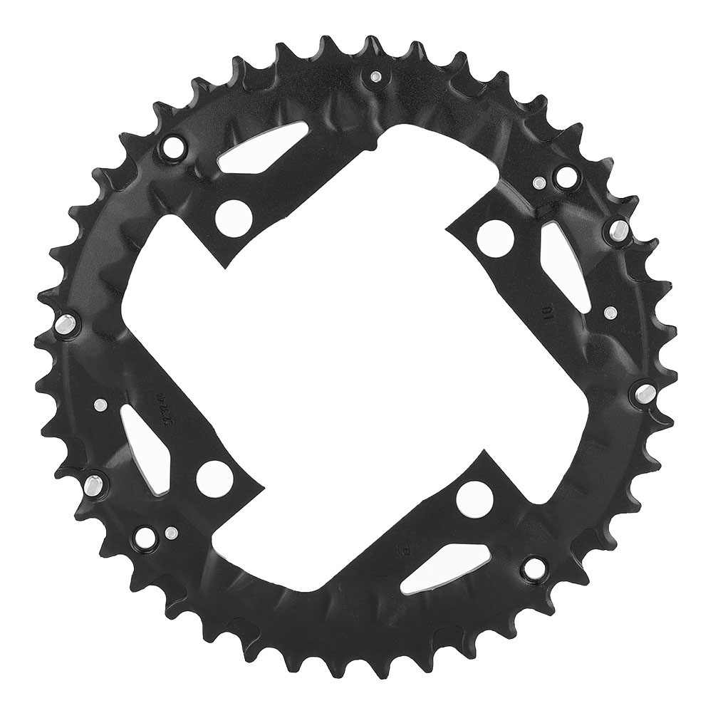 Gratis Pengiriman 44T Bulat Sempit Lebar Chainring Sepeda Gunung MTB Sepeda 44T Crankset Plat Gigi Bagian BCD 104 MM 9 Kecepatan Sepeda