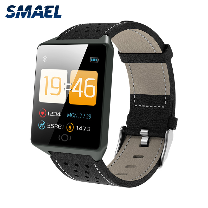 SMAEL CK19 Smart waterproof watch men and women's heart rate healthy exercise bracelet bluetooth multi-function electronic watch