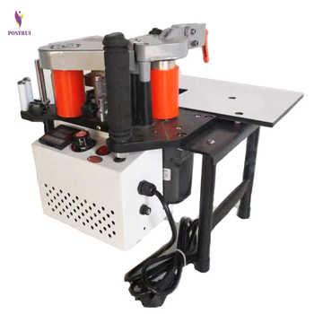 220V 1100W Double-Side Manual Edge Banding Machine Gluing Portable Edge Bander Woodworking Edge Banding Machine