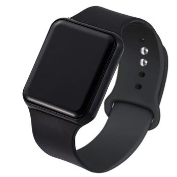 Moda Sport zegarek LED luksusowy cyfrowy zegar męski zegarek sportowy wojskowy armia wodoodporny Fitness zegarki damskie zegarek męski tanie i dobre opinie GoGoey NONE Z tworzywa sztucznego CN (pochodzenie) 25cm bez wodoodporności Sprzączka Rectangle 22mm Wyświetlacz LED Fashion Sport Watch LED Luxury Men Digital Watch