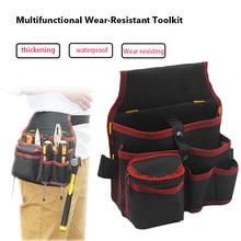 Cinto de bolso da cintura alta capacidade ferramenta saco cintura bolsos eletricista ferramenta saco oganizer bolsa de transporte ferramentas saco
