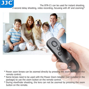 Image 4 - JJC BR E1 Wireless Remote Control Controller for Canon EOS M50 Mark II 6D Mark II R5 R6 R RP 90D 77D 850D 800D 200D II M200 M50