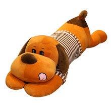 Куй горячая мультфильм собака плюшевые игрушки милые чучела животных кукла долго спать подушка комната декор дети подарок на день рождения Бассет-хаунд