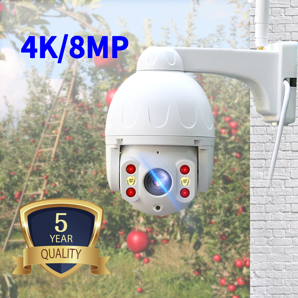 N_eye ip camera 8MP 4K HD outdoor Camera waterproof with color night vision PTZ Security wifi smart security camera 360° camera|Surveillance Cameras| - AliExpress