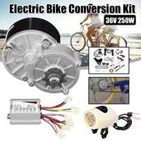 36V 250W Motorcycle Electric Bike E Bike Conversion Scooter Motor Controller Kit For 22 28'' Ordinary Bike Bicycle Accessories