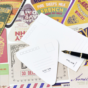 Image 5 - 5packs/lot Mode Design Werbung Boxed Nachricht Postkarten Büro Schule Liefert Mini Papier Postkarte Großhandel