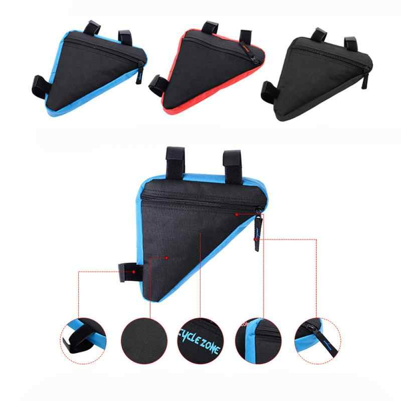Bike Bicycle Bag Front Tube Frame Phone Holder Waterproof Bags Triangle Pouch AU