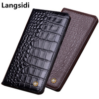 Bussiness Case Coque Genuine Leather Kicktand Flip Case For Huawei P Smart Z Huawei Y9 Prime 2019 Magnetic Holder Phone Cover